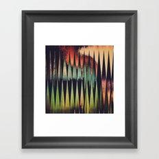 pyyntyd ryjyckt Framed Art Print