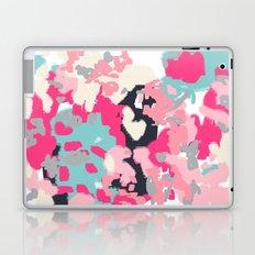 Vivi - abstract home decor canvas painting minimalist modern painterly bohemian decor bright happy Laptop & iPad Skin