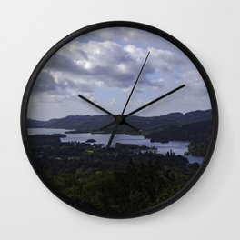 Lake Windermere, View from Orrest Head - Landscape Photography Wall Clock