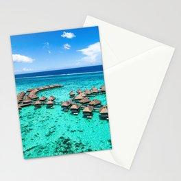 Tahiti paradise honeymoon vacation destination Stationery Cards