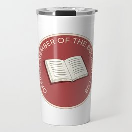 Official Member of the Bookish Club Travel Mug