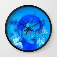 All Is Full of Love (Luna Moths) Wall Clock