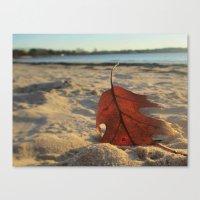 sand Canvas Prints featuring Sand by Jillian Stanton