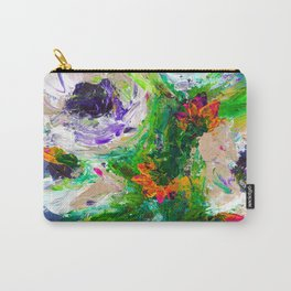 Colorful - Botanical - Flowers Carry-All Pouch
