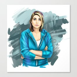 Allie Canvas Print