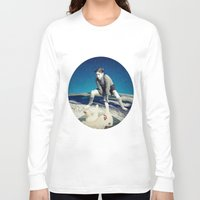 chicken Long Sleeve T-shirts featuring Chicken by Cs025