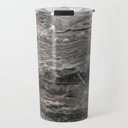 Smokey gray marble Travel Mug