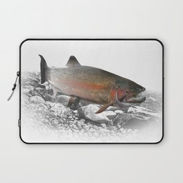 Migrating Steelhead Trout Laptop Sleeve