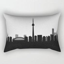 City Skylines: Toronto Rectangular Pillow