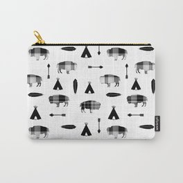 Buffalo Tribe Carry-All Pouch