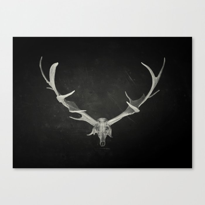 Dead King Canvas Print
