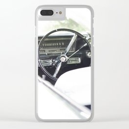 Summer time and Cadillacs Clear iPhone Case