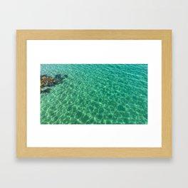 Egypt - Mediterranean Sea Framed Art Print