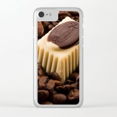 Coffeetime Clear iPhone Case