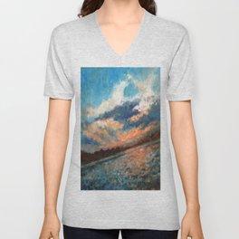 Blue Sky Unisex V-Neck