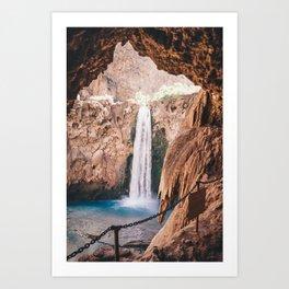 Mooney Falls Art Print