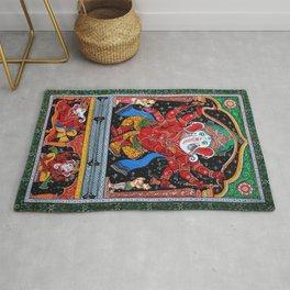 Hindu Ganesha 4 Rug