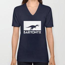 Baryonyx Dinosaur Unisex V-Neck