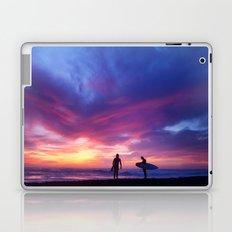 Surfer's Sunset Laptop & iPad Skin