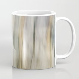 Soft Blue and Gold Abstract Coffee Mug