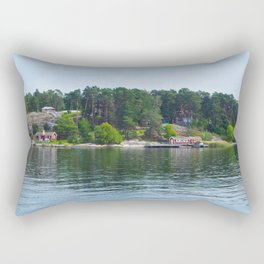 Island in the Archipelago Rectangular Pillow