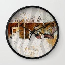 Fire / Liger Wall Clock