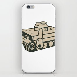 World War Two German Panzer Tank Aiming iPhone Skin