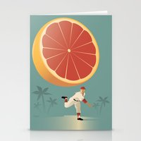 league Stationery Cards featuring Grapefruit League by John W. Tomac
