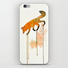 red_fox iPhone Skin