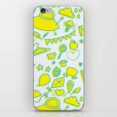 doodle brightness iPhone & iPod Skin