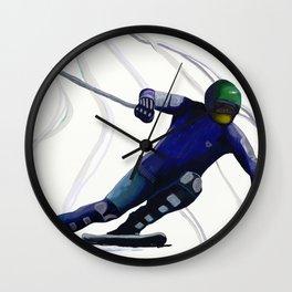 Blue Racer Wall Clock