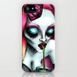 Neon Blood iPhone Case