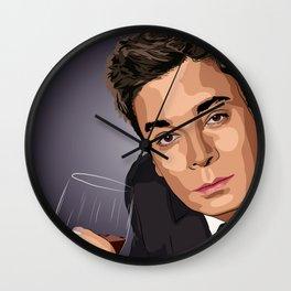 Rotoscope Jimmy  Fallon Wall Clock