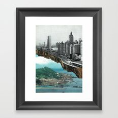 Out on the Skirts Framed Art Print