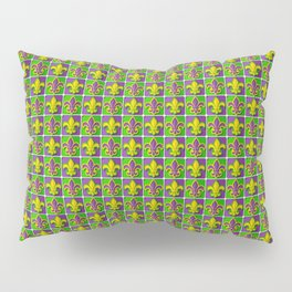 Mardi Gras  pattern Pillow Sham