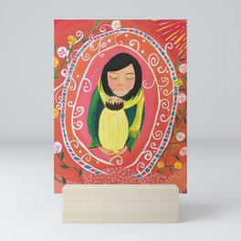 A Little Prayer | Yuko Nagamori Mini Art Print