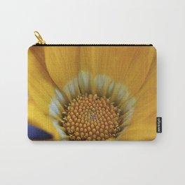 Yellow Gazania Macro Carry-All Pouch