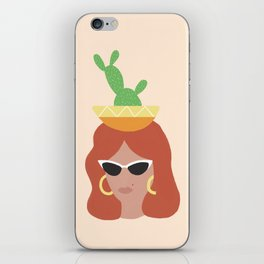 Simone iPhone Skin