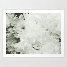 White Art Print