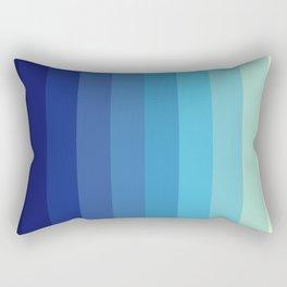 Blue Timeless Stripes Tizheruk Rectangular Pillow