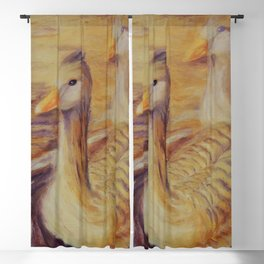 Duo of tenderness | Duo de tendresse Blackout Curtain