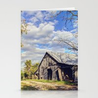 kentucky Stationery Cards featuring Kentucky Barn by JMcCool