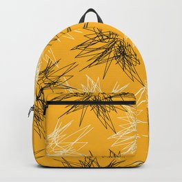 Yellow Squiggles Backpack