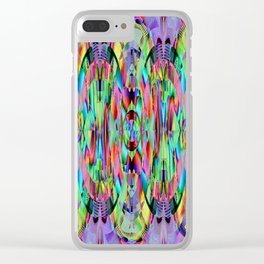 Salvaged concept Clear iPhone Case