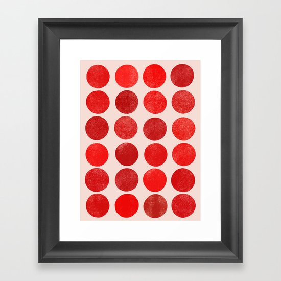 colorplay 12 Framed Art Print