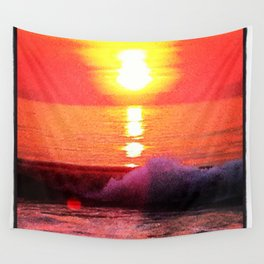 Seaside Park Sunrise Wall Tapestry