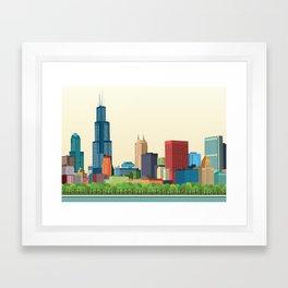 City Chicago Framed Art Print