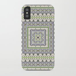 1 the national pattern iPhone Case