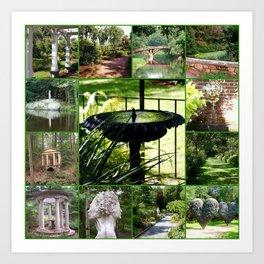 Tower Hill Botanical Garden Art Print