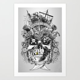 No Quarter Art Print